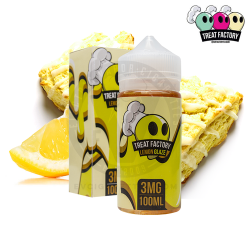 Lemon Glaze E-Liquid by Treat Factory Review