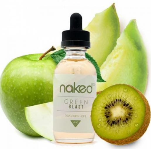 Green Blast E-Liquid by Naked 100 Review