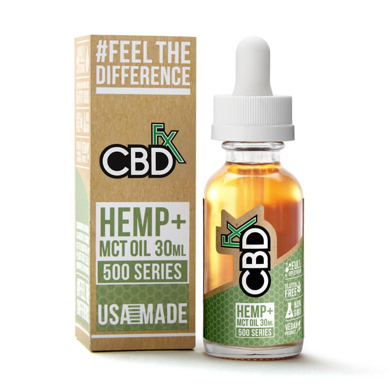 CBD Tincture Oil by CBDfx Review