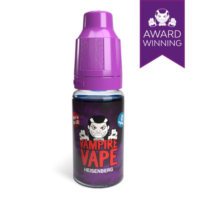 Heisenberg E-liquid by Vampire Vape Nic Salt Review